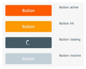 button states of UX