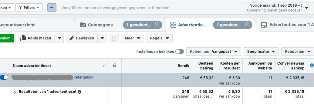 40x advertentiekosten terugverdiend met Facebook retargeting
