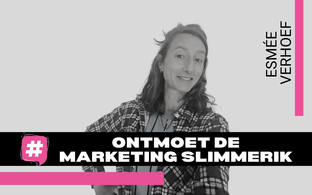 Maak kennis met Esmée; onze aanpakker en duizendpoot op het gebied van Social Media